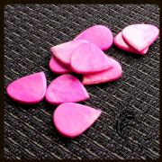 Jazzy Tones - Pink Bone - 1 Guitar Pick | Timber Tones